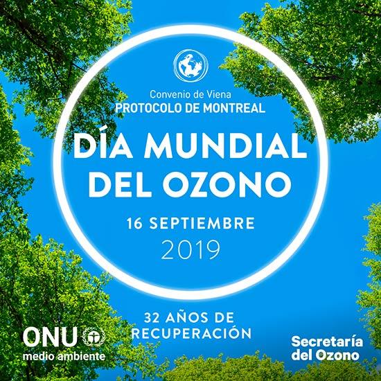 Dia Internacional de la capa de ozono 2019