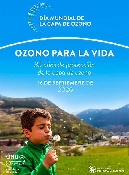 Dia Internacional de la Preservacion de la capa de ozono 2020