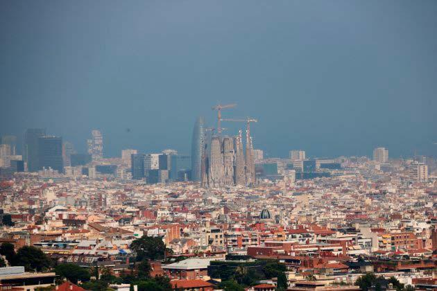 contaminacion atmosferica Barcelona