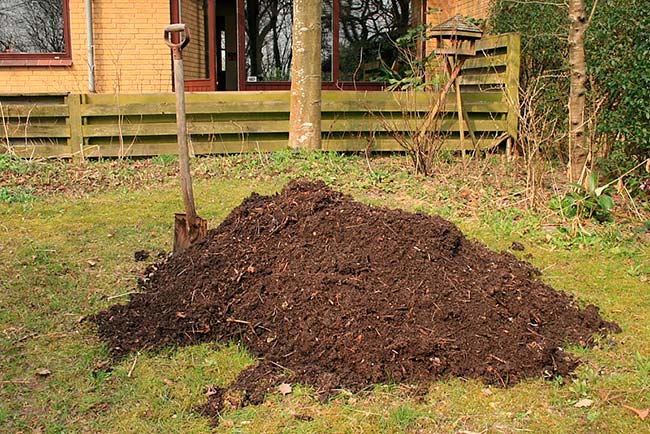 hacer compost en tierra