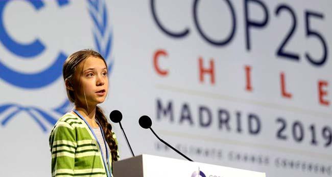 Greta Thunberg Cumbre del Clima 2019