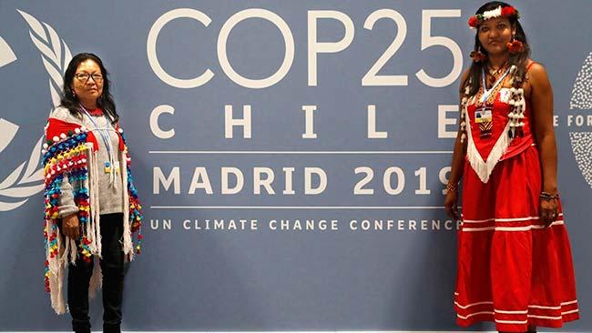 presidencia chilena en cumbre del clima 2019 Madrid Ifema