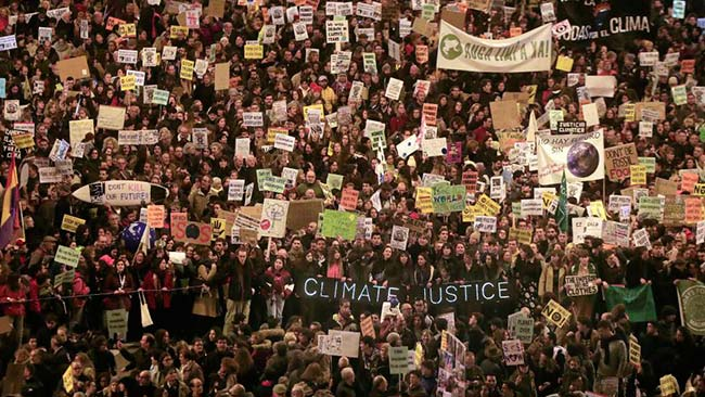 Manifestacion Marcha por el Clima 2019