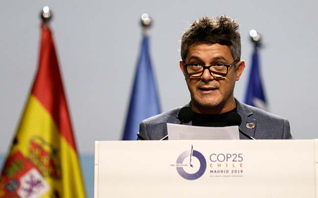 Alejandro Sanz Cumbre del Clima 2019