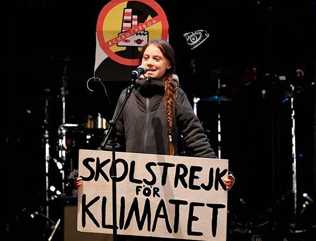 Greta Thunberg discurso final Marcha por el Clima