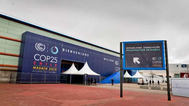 Cumbre del Clima COP25 Madrid