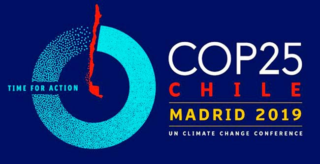 Cumbre del Clima COP25 logo