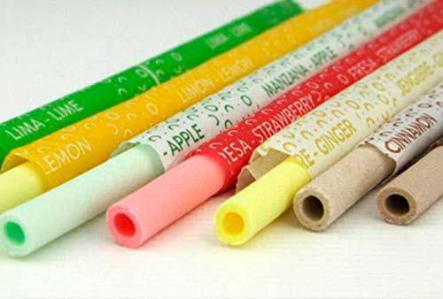 Tazas y pajitas comestibles para evitar el uso del plástico
