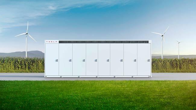 baterias almacenar energia renovable Tesla