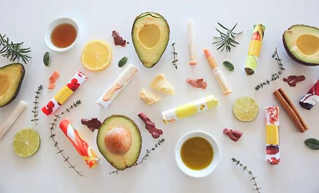 maquillaje de alimentos Lük Beautyfood