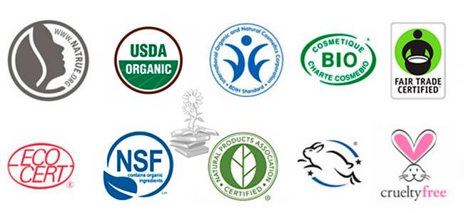 sellos certificaciones cosmeticos ecologicos