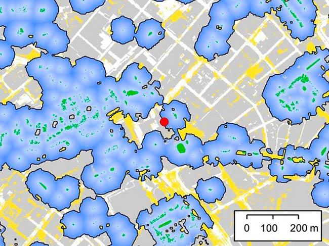 impacto ecologico de la iluminacion artificial, modelos de Ciudad Brillante y Ciudad Oscura