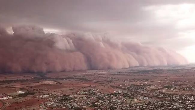 tormenta de arena Australia