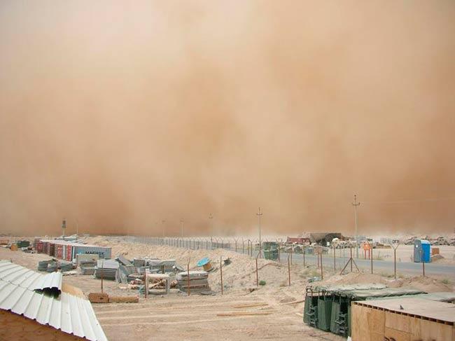 efectos tormenta de arena