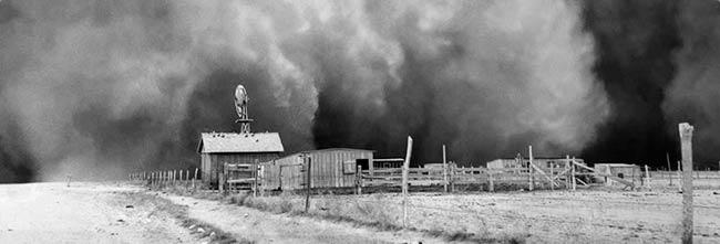 tormenta de arena Dust Bowl