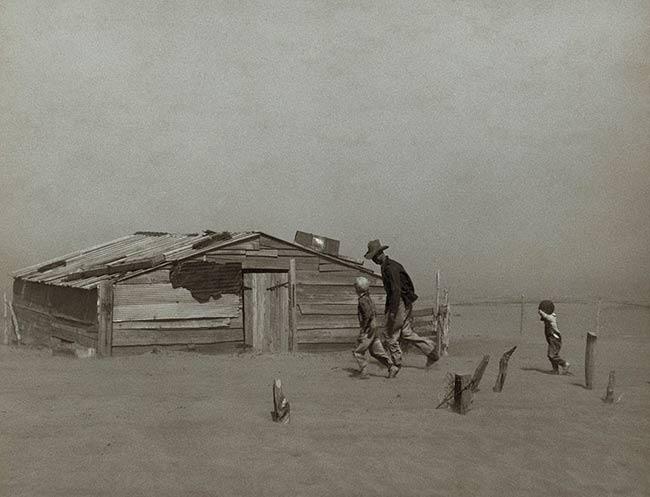 efecto Dust Bowl granjero