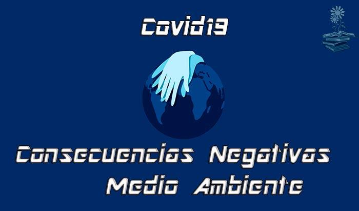 consecuencias negativas del Covid19 en el Medio Ambiente Portada