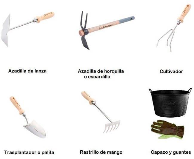 herramientas huertos caseros pdf