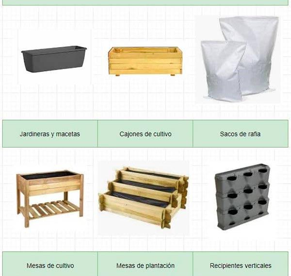 como hacer un huerto urbano con palets recipientes para huertos urbanos