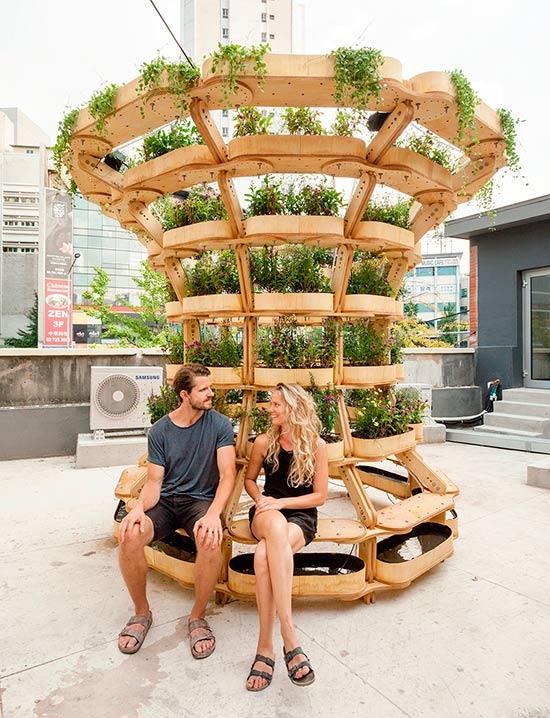 huerto vertical GrowMore