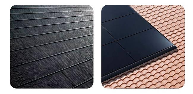 tipos techos solares Tesla