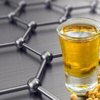 grafeno a partir de aceite de soja portada