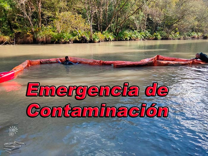 emergencia por contaminacion en el rio Eume Portada