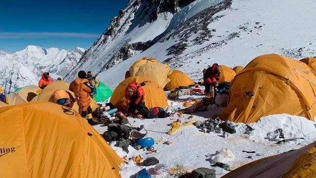 Everest es el basurero mas alto del mundo
