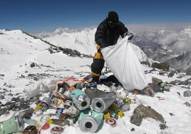 basura Monte Everest