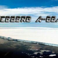 iceberg A-68A portada