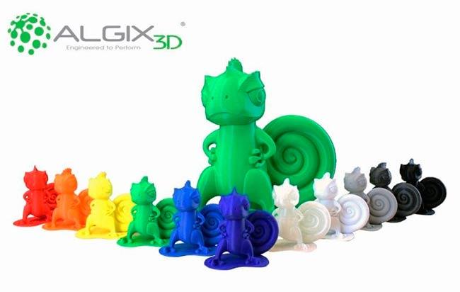 filamentos de plastico ecologico 3D de algas Algix