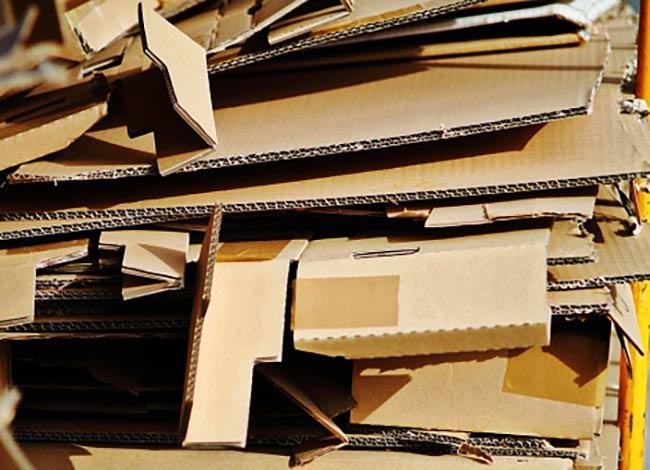 carton, material ecologico en tendencia