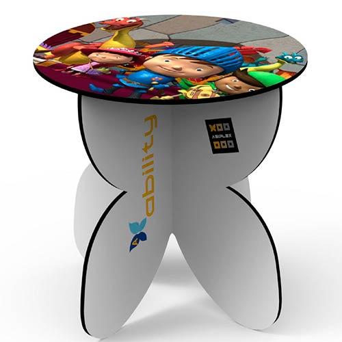 mesa de carton