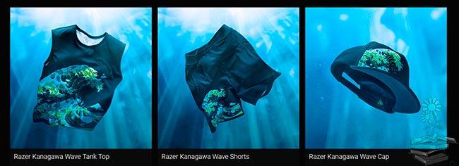 ropa Razer Kanagawa Wave