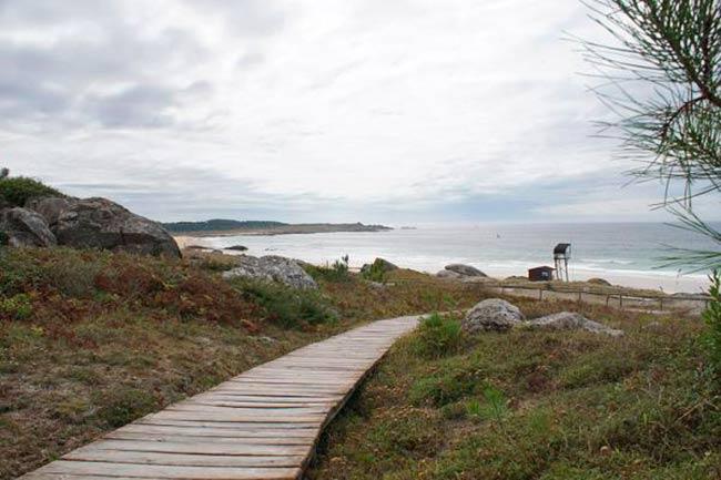 camino de la playa corrubedo