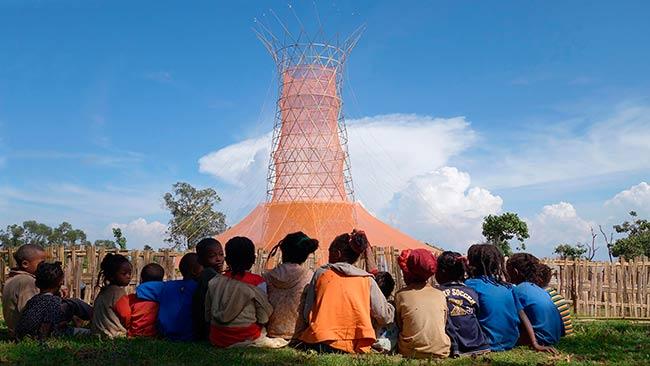 warka water comunidad local