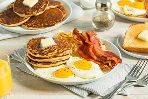 dieta WS desayuno occidental