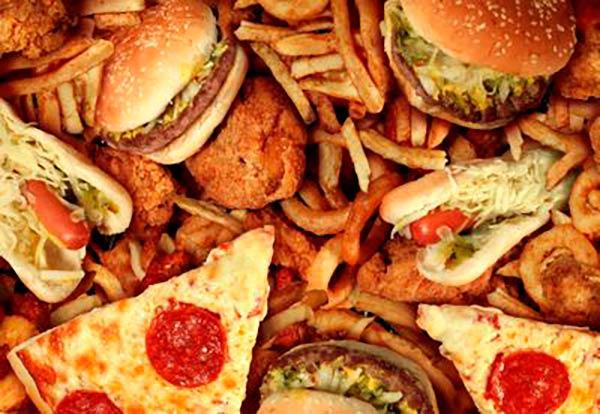comida basura junk food dieta WS