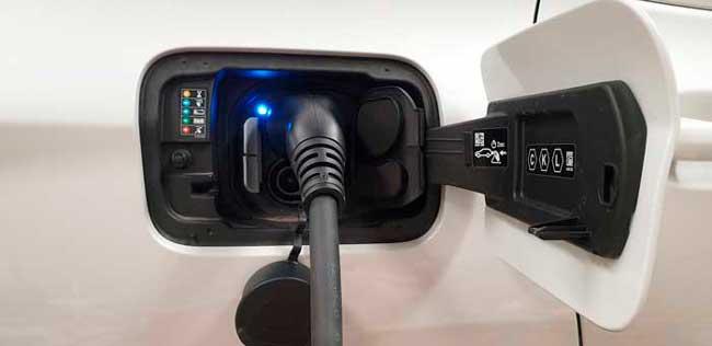 punto de recarga coche electrico
