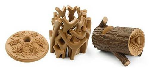 madera impresa en 3d