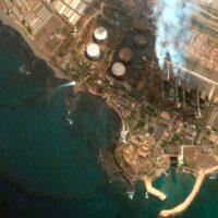 derrame de petroleo de Siria Portada