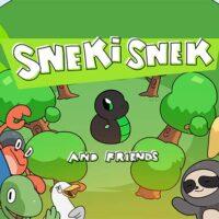 serie animada de Sneki Snek Portada